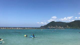 竹野浜海水浴場にいってきたよ!